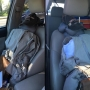 Woman uses dummy passenger with briefcase in carpool lane