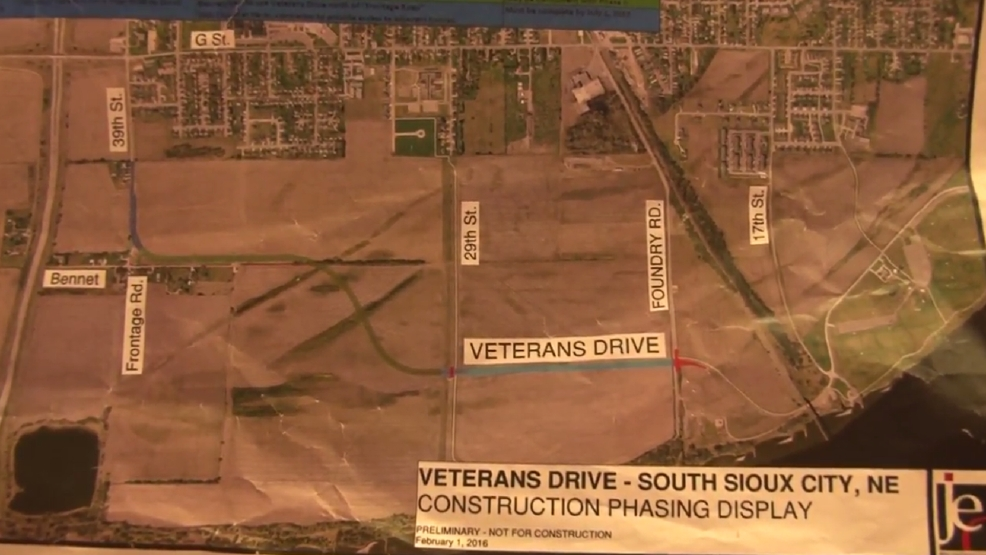South Sioux City awarded contract to create drive KMEG