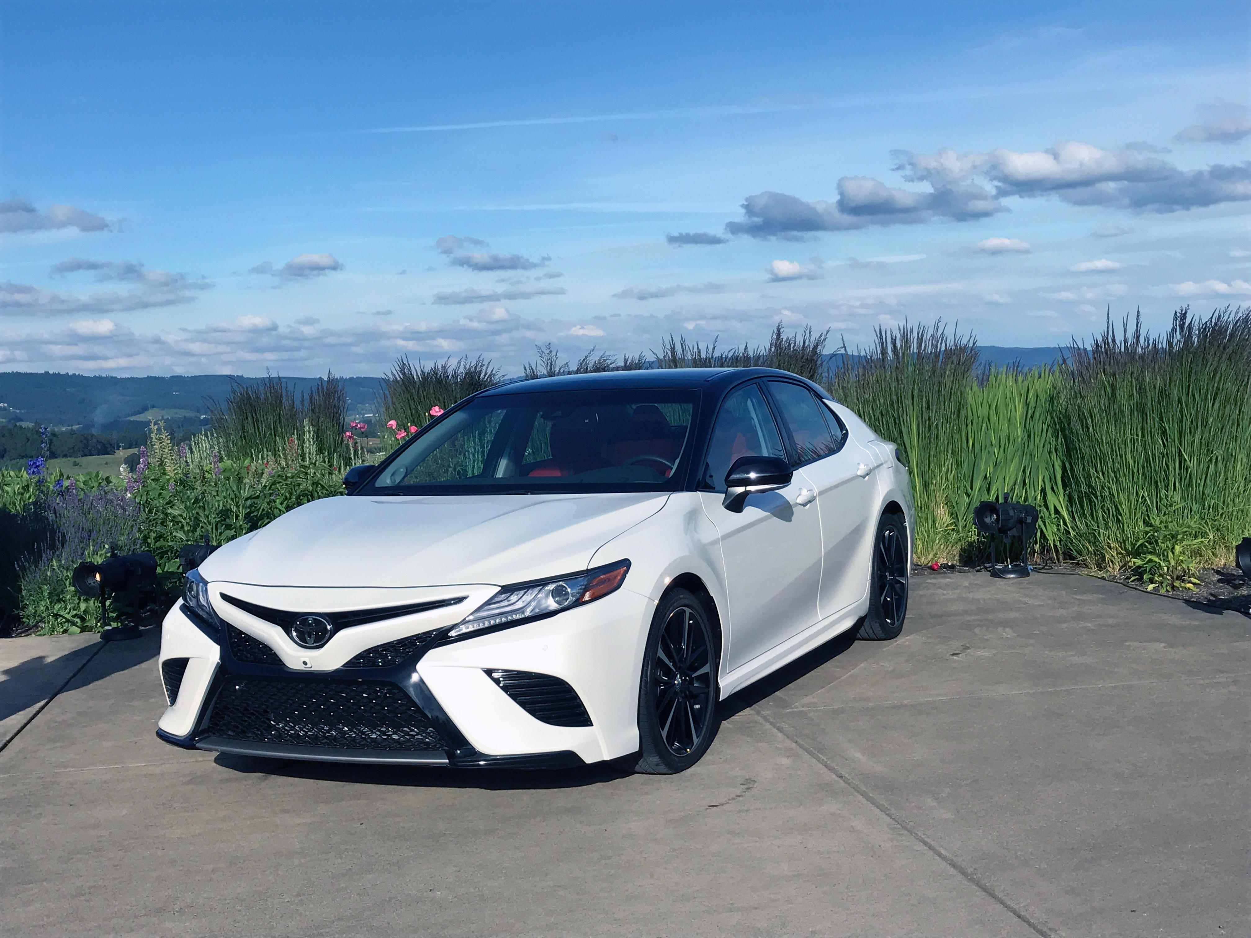 2018 toyota camry xse. simple camry 2018 toyota camry xse sinclair broadcast group  jill ciminillo inside toyota camry xse