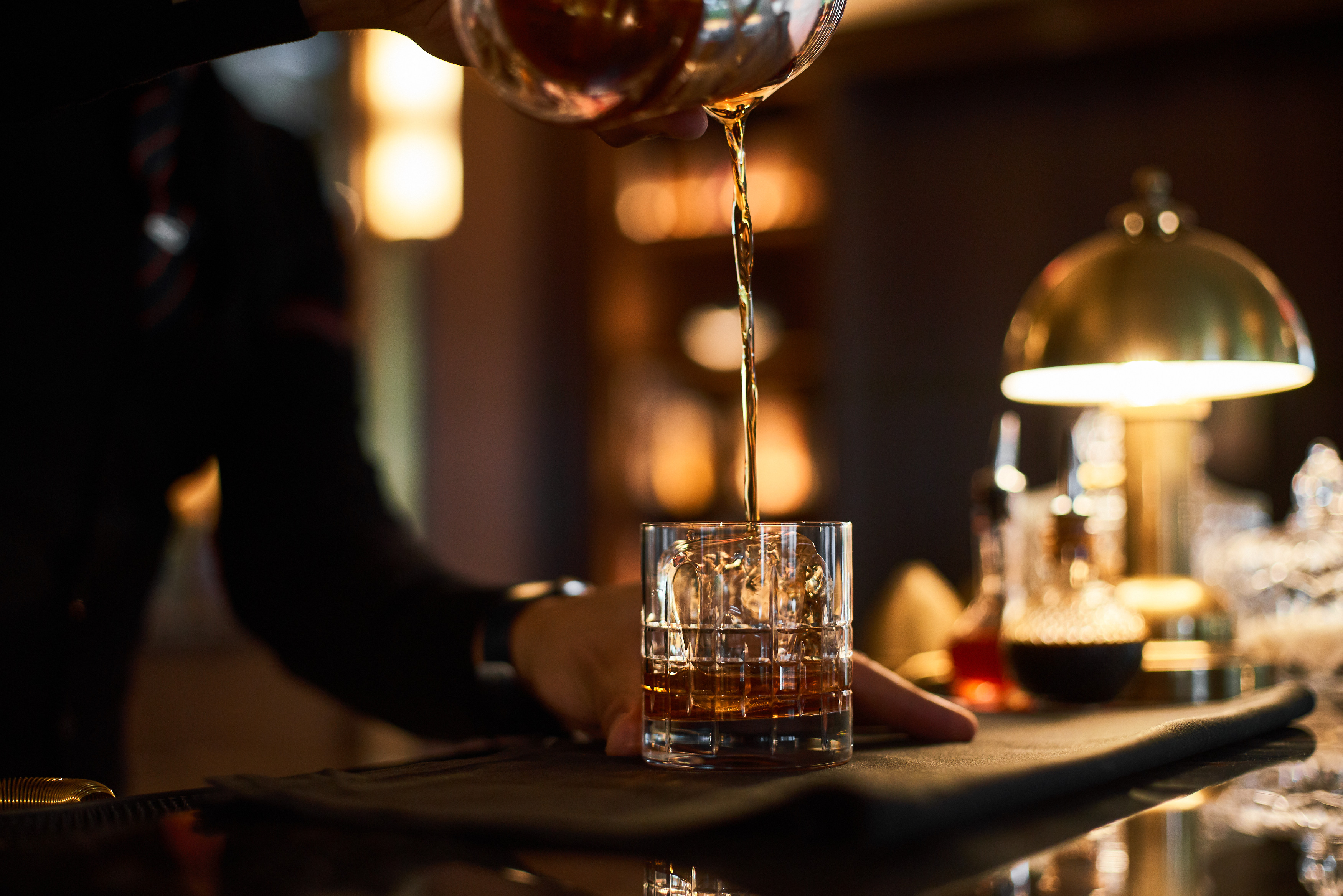 """I always recommend trying whiskey with friends in a place where you have someone to guide you,"" says Lenikowski. (Image: Courtesy The Dupont Circle Hotel)"