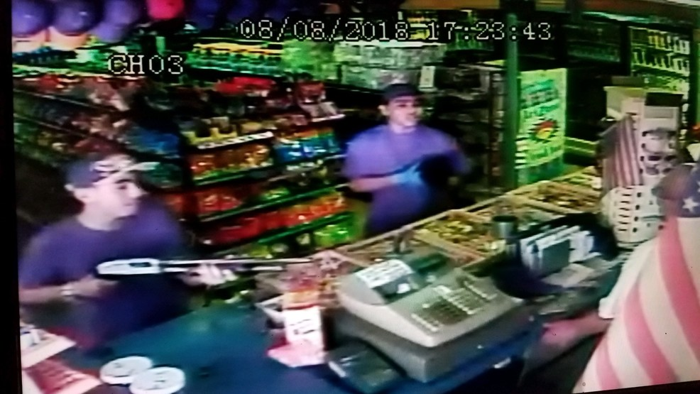 Two teens caught on camera robbing two Tulare County