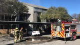 AFD working on apartment fire in N. Austin