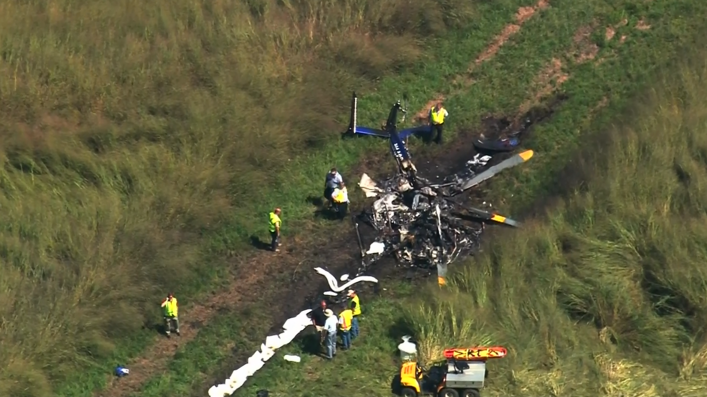 heli crash 2.A Duke Life Flight helicopter went down around 11:45 a.m. Friday near the town of Belvidere, close to the Virginia border and about 160 miles (260 kilometers) east of Raleigh (Photo: CNN Newsource)PNG