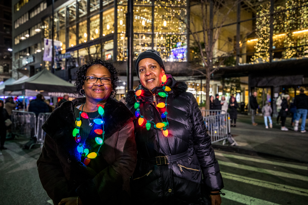 Cheryl Mahone and Angela Sandidge / Image: Catherine Viox{ }// Published: 11.30.19