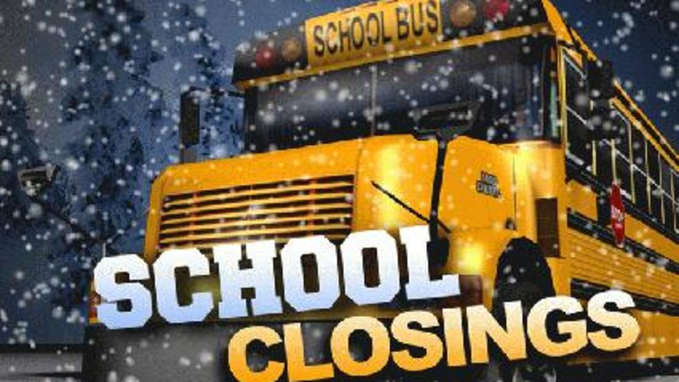 School Closings In The Area