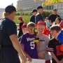 Riverside Elementary students offer emergency responders treats, coffee and a thank you
