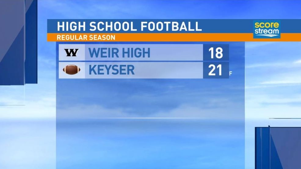 9.15.17: Weir High at Keyser