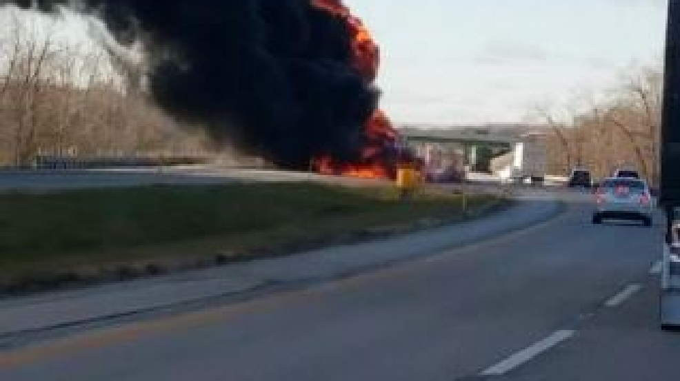 UPDATE: One killed in 3-semi crash on Indiana Toll Road | WSBT