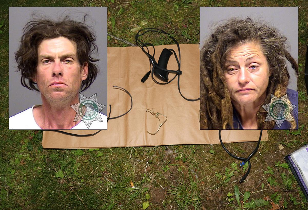 Michael Gray Wilkins and Leslie Jacob Weeks (Courtesy Clackamas County Sheriff's Office)