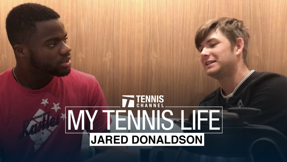My Tennis Life: Episode 5 Jared Donaldson -  Frances Has A Lot to Learn About Basketball