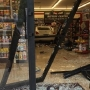 Car crashes into auto parts store in Mount Pleasant during battery change