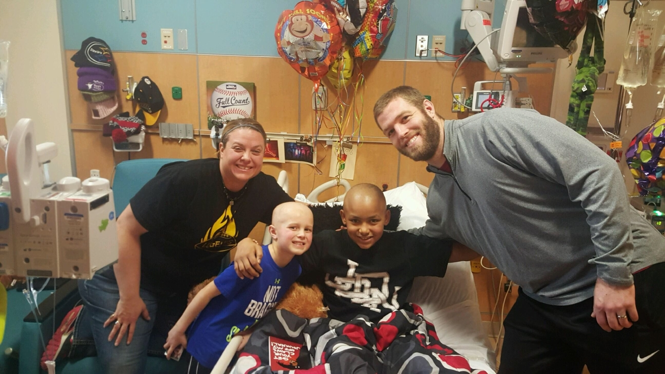 12-year-old overcomes an aggressive form of Leukemia. // WSBT 22 photo