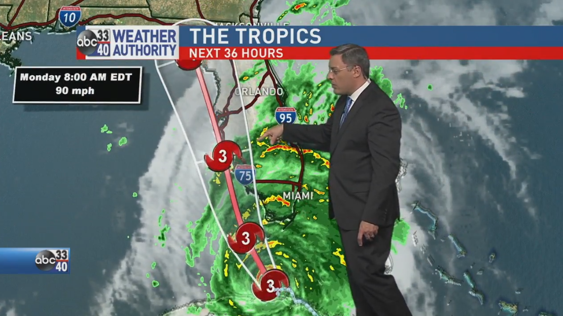Charles Daniel shares the latest on Hurricane Irma