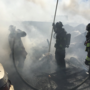 Fire burns two mobile homes in Yakima