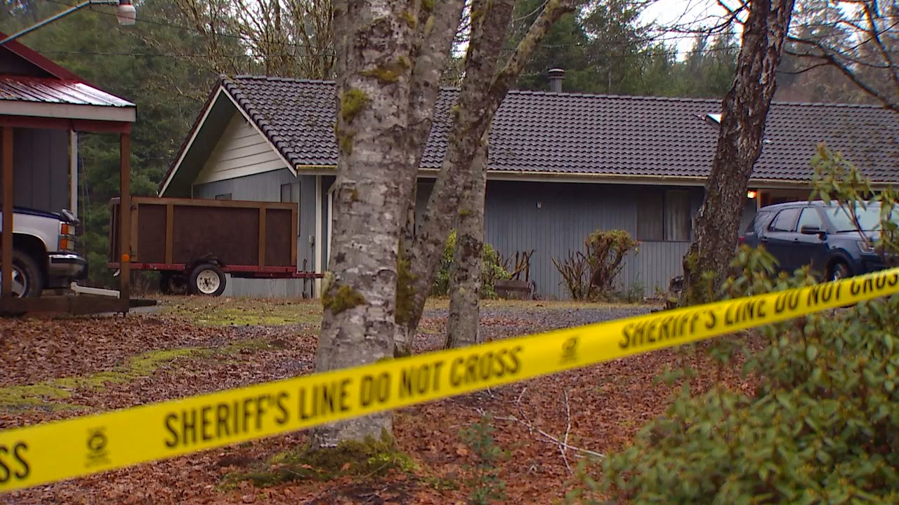 House where{&amp;nbsp;}Gerald Guile was attacked by a woman with a hatchet (KOMO Photo)<p></p>