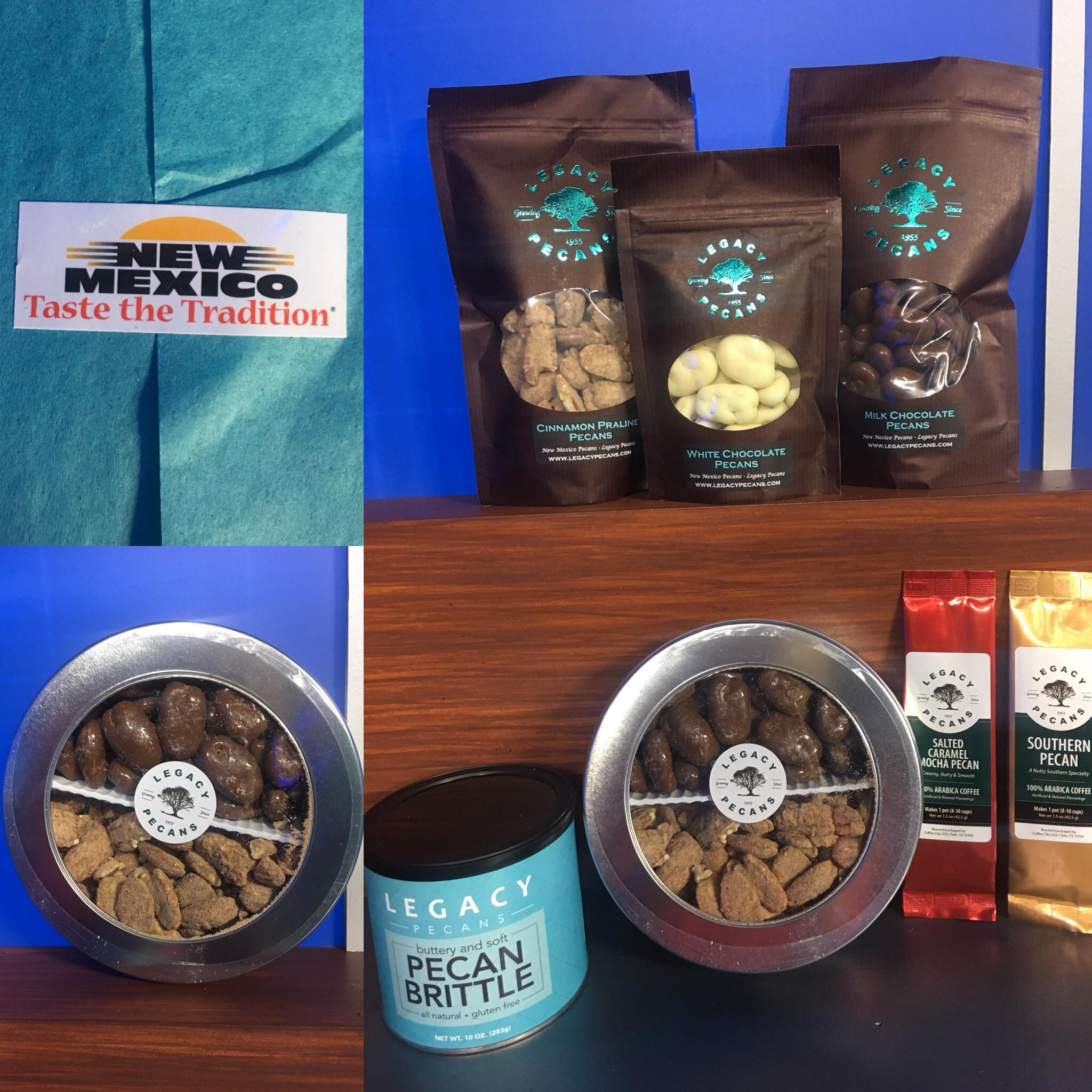 Locally-grown Legacy Pecans make a great holiday gifting option.