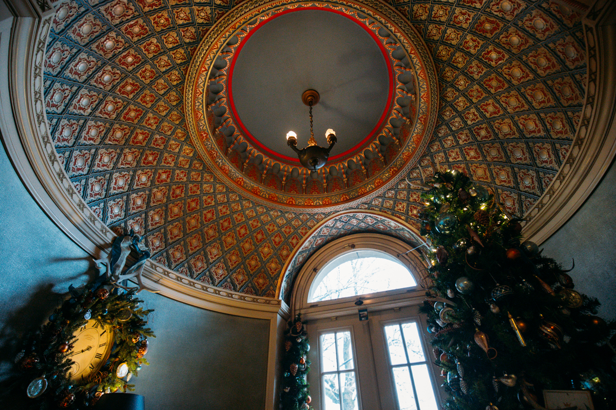 Photos: Pittock Mansion at the holidays | Seattle Refined