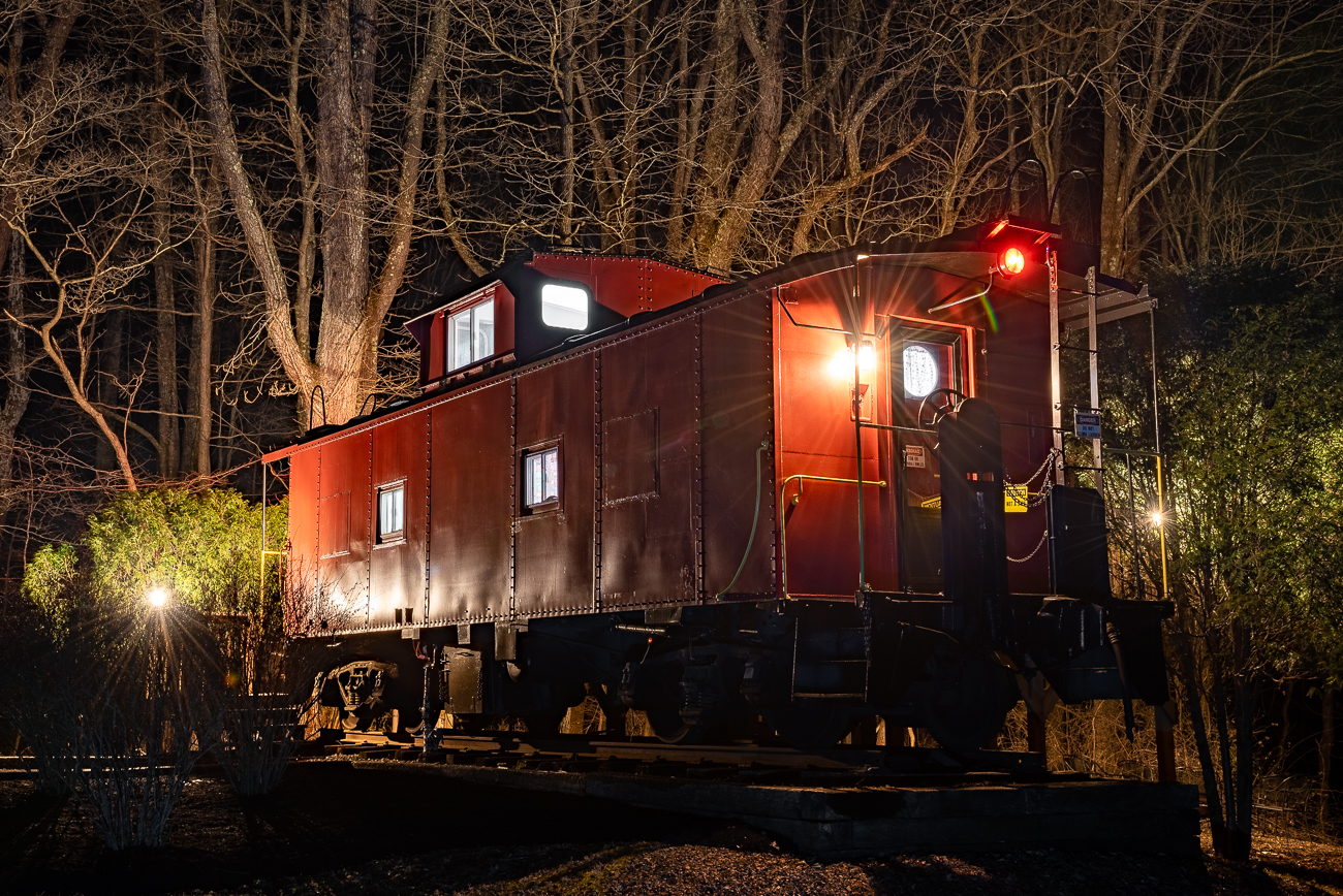 A converted train caboose is now an Airbnb in Hocking Hills you can rent for the night. / Image: Phil Armstrong