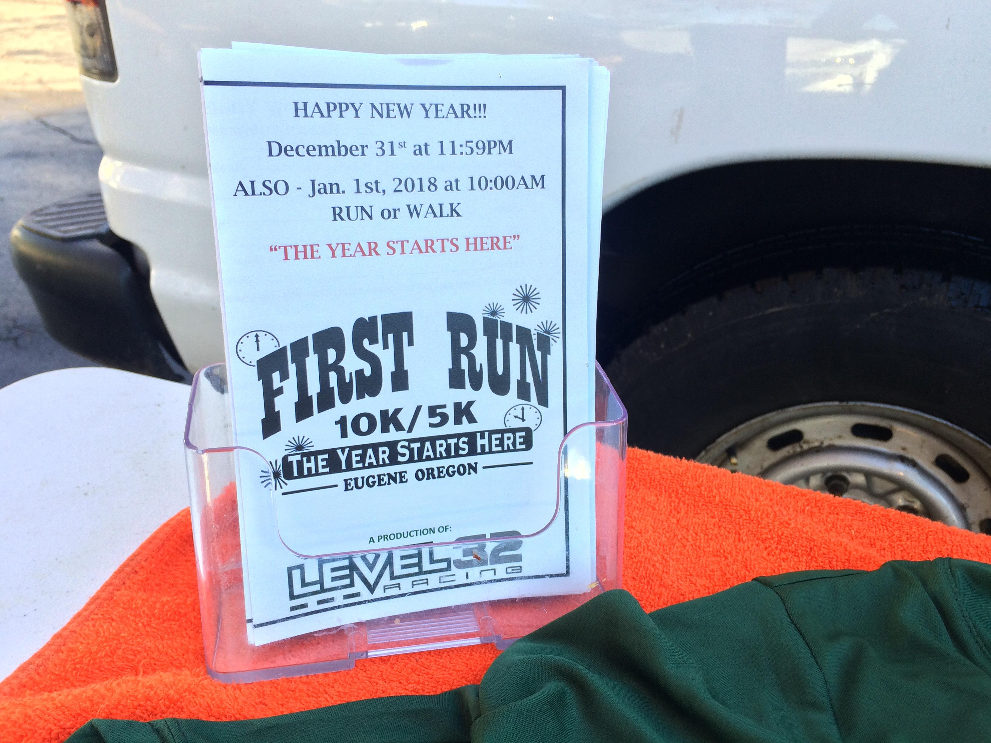 More than 150 runners will take to the streets to run into the new year with the 'First Run' 10K and 5K.