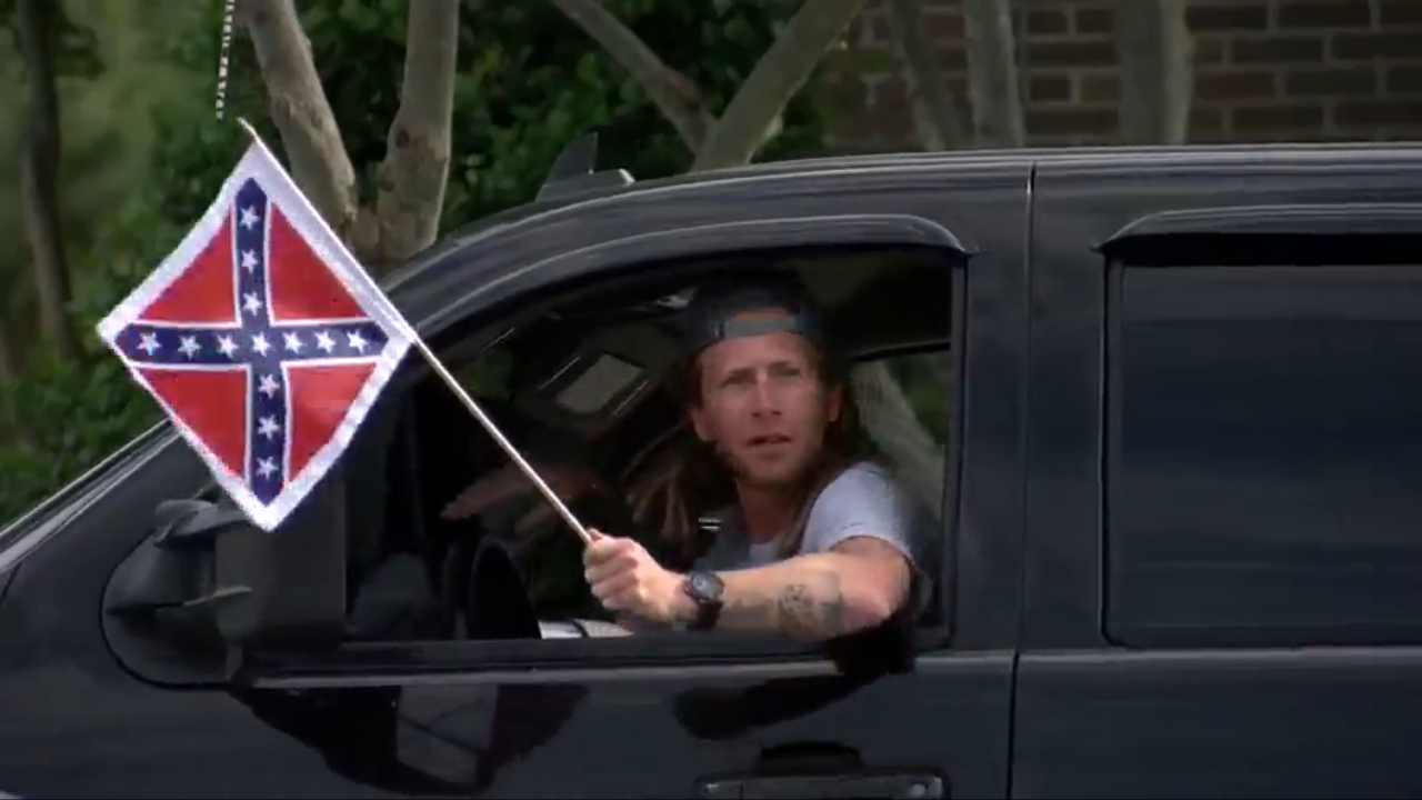 Tension builds in South Carolina town over Confederate 'flagging' events (WCIV)