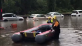 George Washington Parkway reopens after multiple vehicles stranded in high standing water