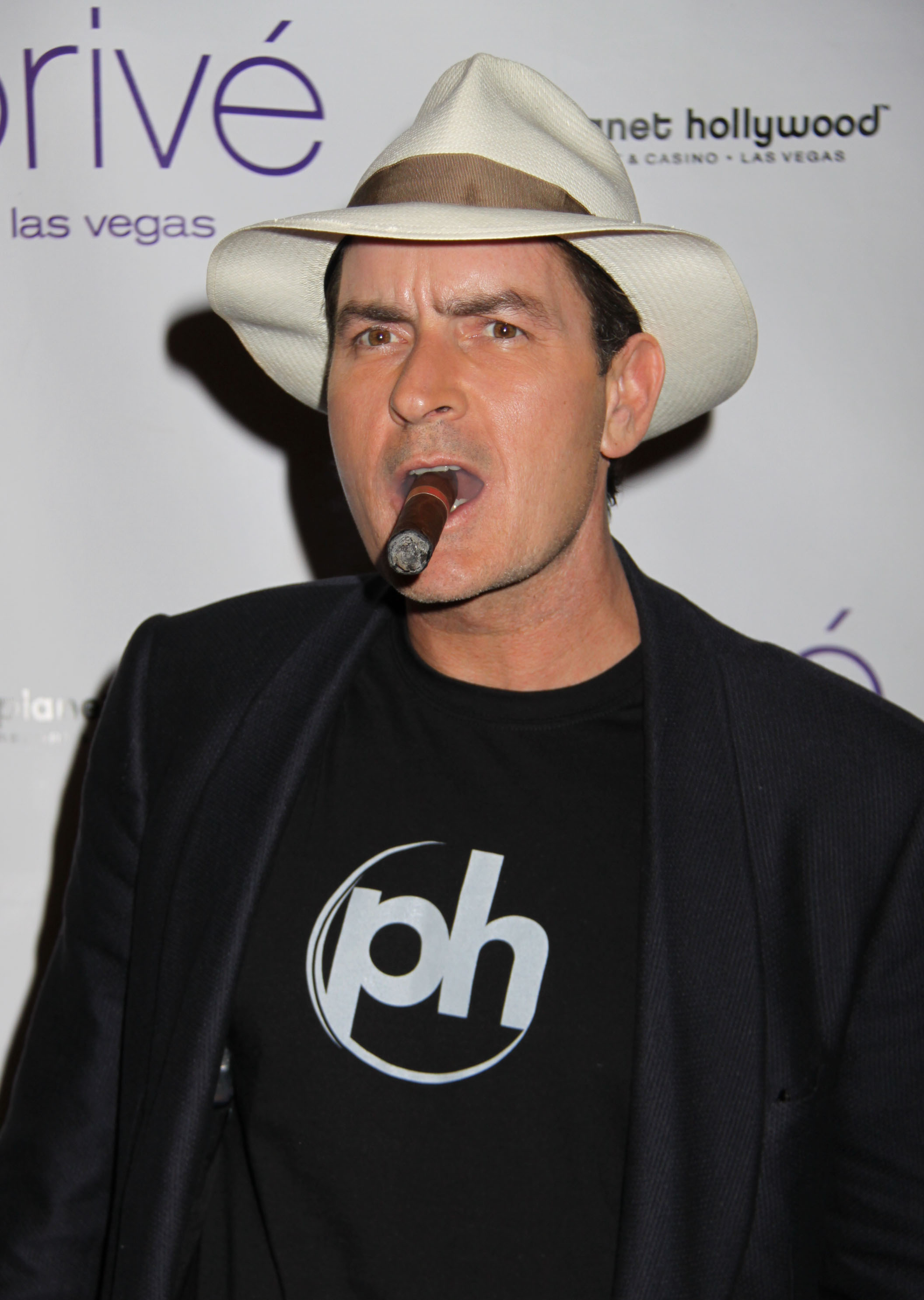 Charlie Sheen hosts an Evening at 'Prive' held at Planet Hollywood Resort and Casino. Las Vegas,  Featuring: Charlie Sheen Where: Nevada, Nevada, United States When: 25 Oct 2008 Credit: Chris Connor / WENN
