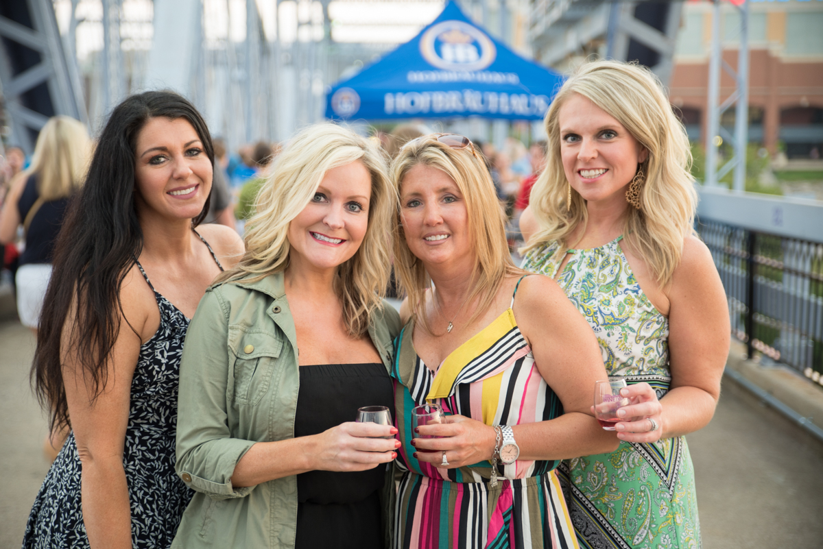 Heather Kyle, Courtney Miles, Kim Arlinghaus, and Heather Morris{&nbsp;}/ Image: Sherry Lachelle Photography // Published: 8.26.18<p></p>