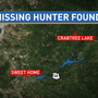 Missing hunter in Linn County found, taken to jail
