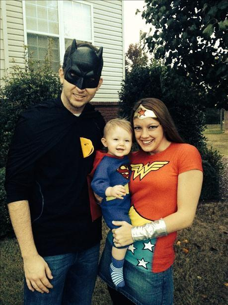 Batman, Superman and Wonder Woman!