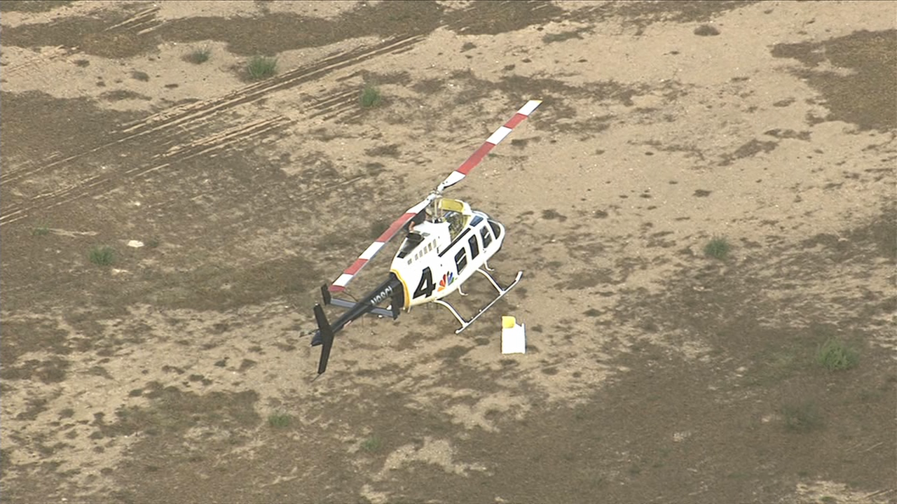 NBC Washington news chopper makes emergency landing, no injuries reported. (Sky Trak 7)