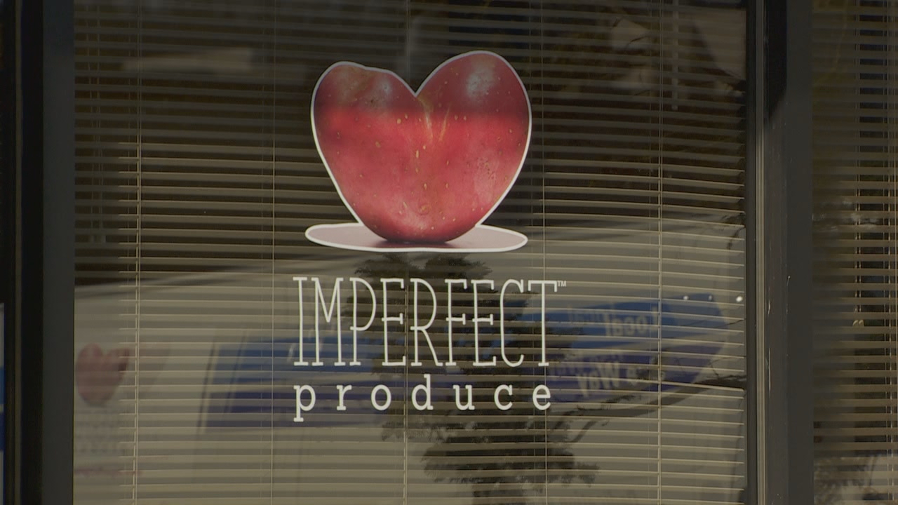 The company's logo is a heart-shaped red potato. (KATU)<p></p>