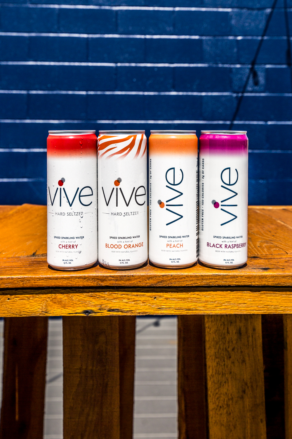 The New Vives: cherry, blood orange, peach, and black raspberry /{ }Image: Catherine Viox{ }// Published: 9.1.19