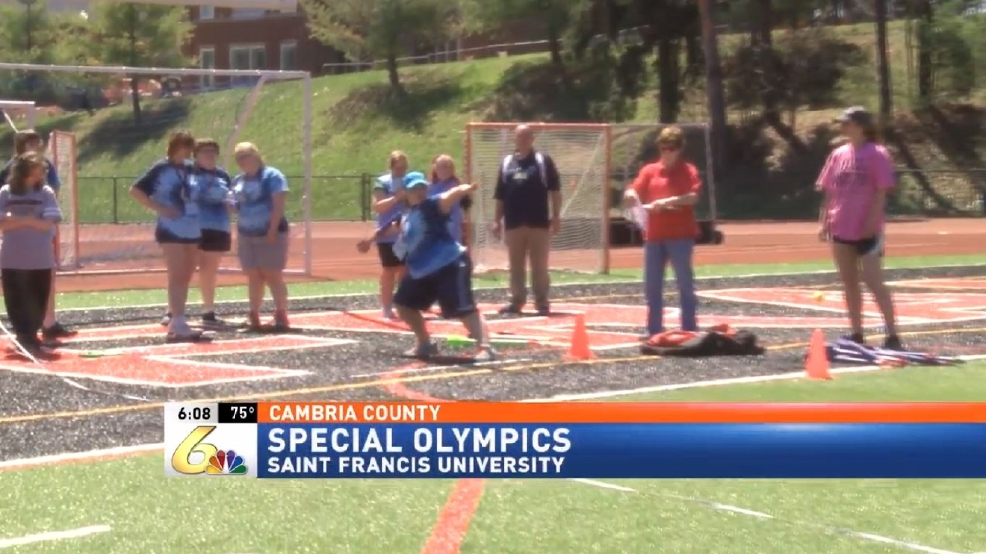 Special Olympics Event Held At St Francis University Wjac