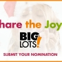 'Share the Joy' nomination
