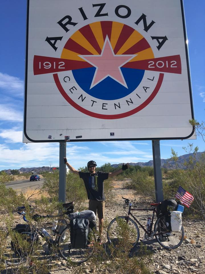 Pay it Forward: Utah man bicycles across U.S. to fight sex trafficking (Photo courtesy Wyatt Buttars)