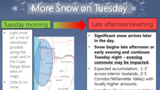 Snow in forecast Tuesday for southern Willamette Valley: 'Expect snow covered roads'