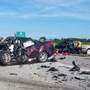2 dead, 3 injured in Brown County crash