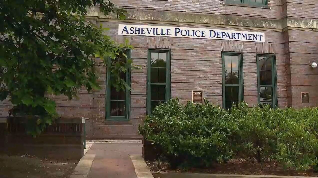 FILE - Sen. Chuck Edwards (R-Henderson) called out Asheville City Council members for cutting the police department's budget by $770,000. (Photo credit: WLOS staff)