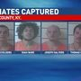 Police say fourth inmate escapee captured in Boyd County, Ky