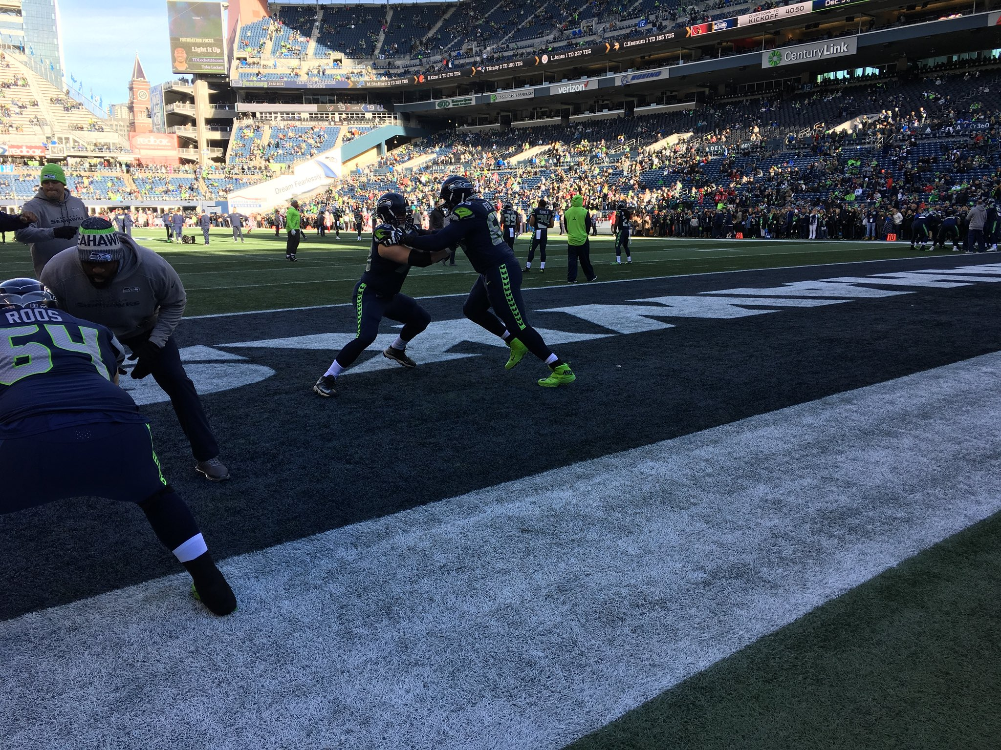 The Seattle Seahawks play the Arizona Cardinals at CenturyLink Field in Seattle for their last game of the regular season. (Photo: KOMO News)
