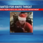 Police seek to identify man in Santa hat who injured another man with knife