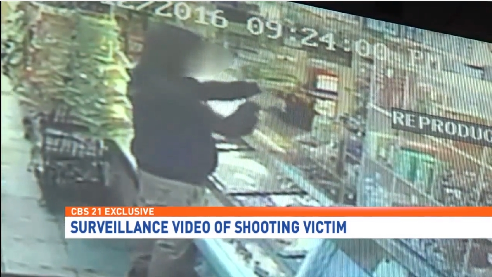 Exclusive | Shocking video shows teen running into store ...