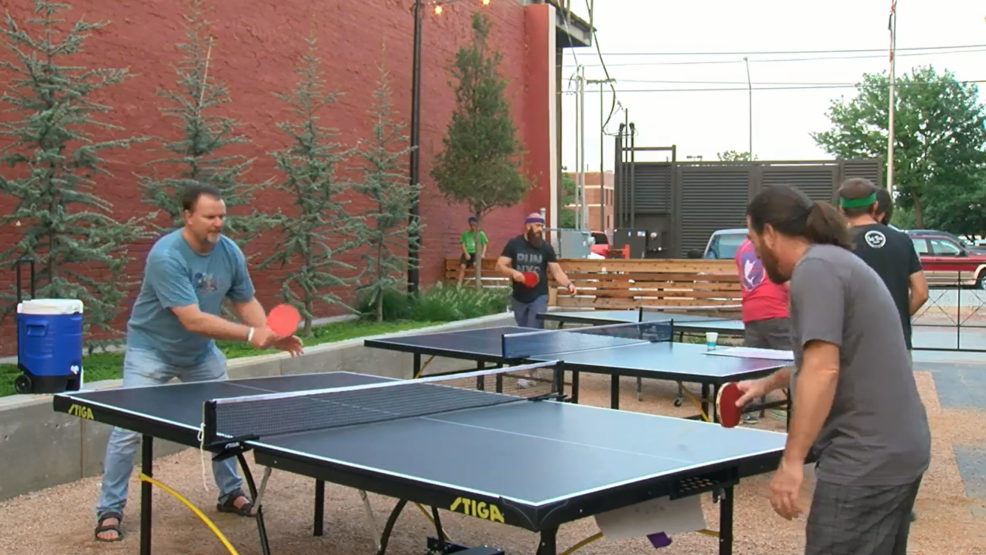 Some Of The Best Ping Pong Players From The Area Showed Off Their Skills At  Six Car Brewery. (ABC 7 Amarillo   Dakota Kessler)
