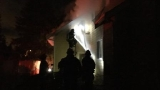 Fire in semi burns Kent home