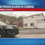 1 person hospitalized after stabbing in Cambria County