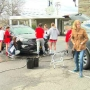 Car wash supports a cause