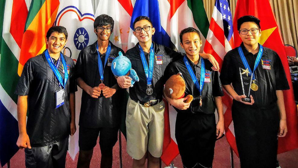 Las Vegas students win medals at International Math and Science Olympiad in Hanoi