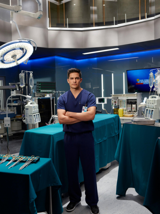 "ABC's ""The Good Doctor"" stars Nicholas Gonzalez as Dr. Neil Melendez. (ABC/Bob D'Amico)"