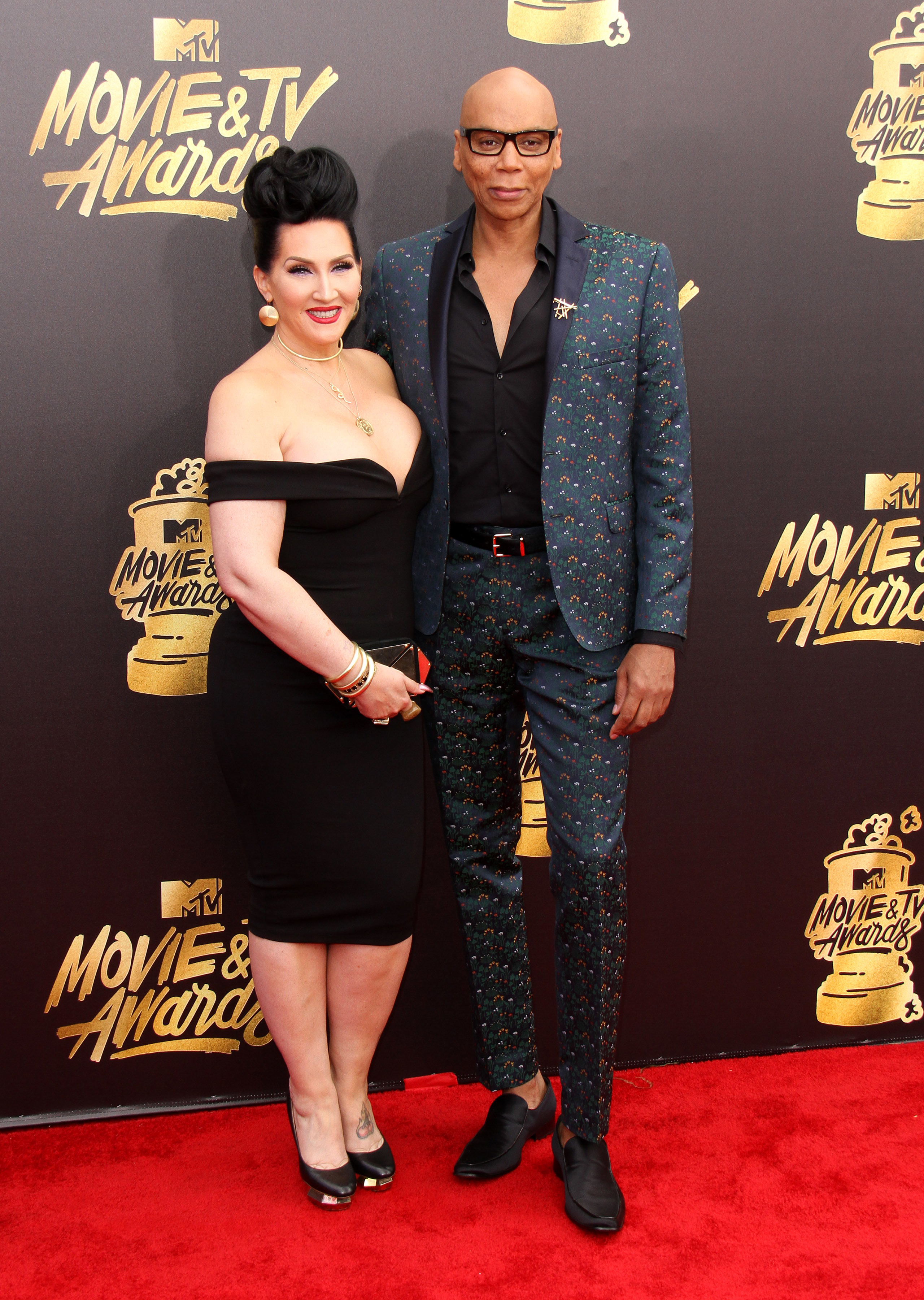 2017 MTV Movie & TV Awards - Arrivals held at the Shrine Auditorium in Los Angeles.                                    Featuring: RuPaul, Michelle Visage                  Where: Los Angeles, California, United States                  When: 07 May 2017                  Credit: Adriana M. Barraza/WENN.com