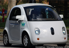 A Waymo self-driving car, Photo Date 2242017 (Cropped Photo Grendelkhan  Wikimedia Commons  CC BY-SA 4.0 MGN) .png